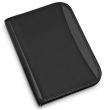 promotional Conference A4 folder,W4V2462,colour: Black,Conference bags & Folders,Water4Fish,promotional products