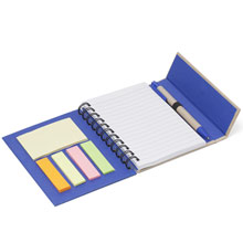 Sticky notes with ball pen