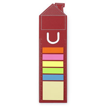 Promotional Bookmark house with notes