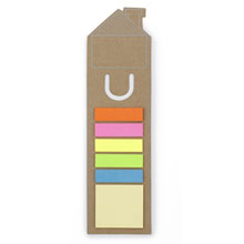 Bookmark house with notes,Brown,W4V2552,Notebooks