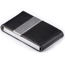 promotional Business card holder,W4V2648,colour: Black,Desk & Office Items,Water4Fish,promotional products