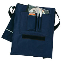 Document bag with handle