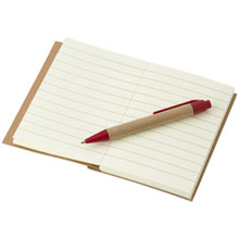 promotional Notepad / notebook,W4V2687,colour: Red,Notebooks,Water4Fish,promotional products