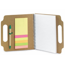 promotional Notepad / notebook,W4V2699,colour: Neutral,Notebooks,Water4Fish,promotional products