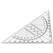Promotional Square with protractor