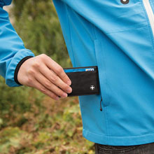 Promotional Swiss Peak card holder with RFID protection
