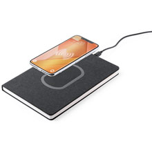 Notebook A5, wireless charger