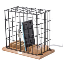 Promotional Storage compartment for mobile phones cage