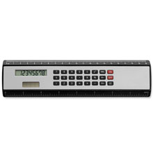 promotional Ruler with calculator,W4V3030,colour: Black,Silver,Rulers & Measure Tapes,Water4Fish,promotional products