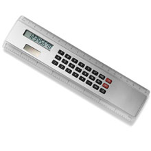 Ruler with calculator,Silver,W4V3030,Rulers & Measure Tapes