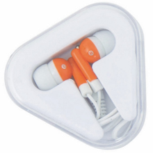 promotional Earphones,W4V3335,colour: Orange,Computer & Tech Items,Water4Fish,promotional products
