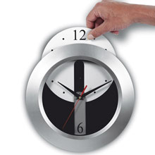 Wall clock with detachable dial,W4V3624,Clocks & Weather