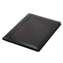 promotional Conference folder A4 with notepad,W4V4066,colour: Black,Conference bags & Folders,Water4Fish,promotional products
