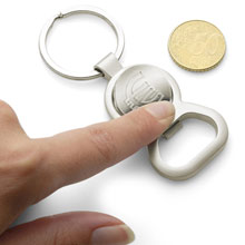 Promotional Keyring bottle opener