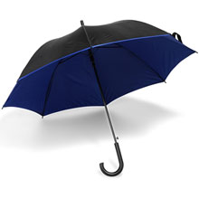 promotional Automatic umbrella with plastic handle,W4V4118,colour: Navy Blue,Red,Green,Yellow,Umbrellas,Water4Fish,promotional products