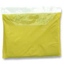 Vinyl poncho with hood,Yellow,W4V4124,Beach & Outdoor Items