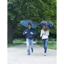 Promotional Double layer manual umbrella