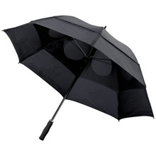 promotional Storm-proof vented umbrella,W4V4213,colour: Black,Umbrellas,Water4Fish,promotional products