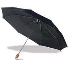 promotional Foldable umbrella, nylon sleeve,W4V4223,colour: Black,Umbrellas,Water4Fish,promotional products