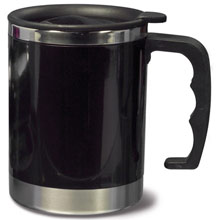 Mug 0.4 l,W4V4501,colour: Black,Navy Blue,Red,Mugs - China & Plastic,Water4Fish