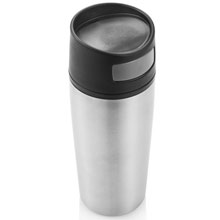 promotional Auto button leak proof tumbler 0.4 l,W4V4647,colour: Silver,Mugs - China & Plastic,Water4Fish,promotional products