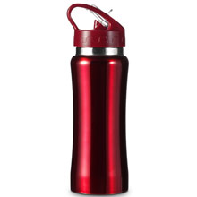 promotional Drinking bottle 0.6 l,W4V4656,colour: Red,Sport Items,Water4Fish,promotional products