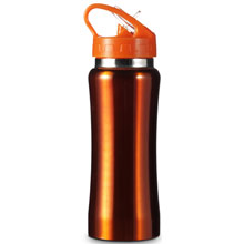 promotional Drinking bottle 0.6 l,W4V4656,colour: Orange,Sport Items,Water4Fish,promotional products