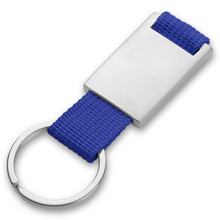 Promotional Keyring with metal badge