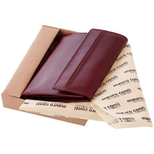 Mauro Conti leather wallet for women