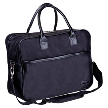 Mauro Conti document and laptop bag,Black,W4V4816,Conference bags & Folders