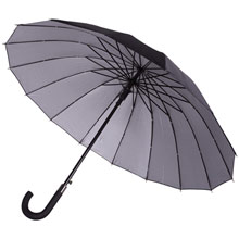 promotional 16 panels automatic umbrella,W4V4187,colour: Black,Navy Blue,Umbrellas,Water4Fish,promotional products