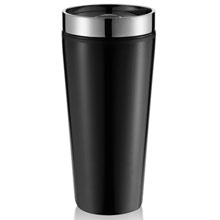 Mug stainless steel,W4V4972,colour: Black,,Water4Fish