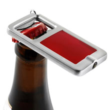 promotional Keyring, opener with LED light,W4V5004,colour: Red,Bottle Openers,Water4Fish,promotional products