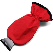promotional Ice scraper glove,W4V5443,colour: Red,Car Promo Items,Water4Fish,promotional products