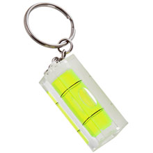Keyring, spirit level,W4V5602,colour: Neutral,Keyrings & Keyfobs,Water4Fish