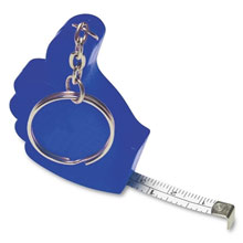 Keyring, measuring tape 1 m,W4V5630,colour: Navy Blue,Rulers & Measure Tapes,Water4Fish