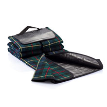 Picnic blanket with handle