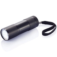 Aluminium LED torch with wrist strap,W4V5771,Torches & LED