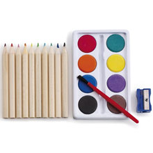 promotional Art set,W4V6104,colour: Neutral,Pencils,Water4Fish,promotional products