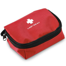 promotional First aid kit in pouch 12 el,W4V6151,colour: Red,Medical & Personal Care Items,Water4Fish,promotional products