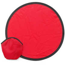 promotional Foldable frisbee, supplied in a pouch,W4V6370,colour: Red,Games & Puzzles,Water4Fish,promotional products
