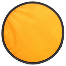 promotional Foldable frisbee, supplied in a pouch,W4V6370,colour: Orange,Games & Puzzles,Water4Fish,promotional products