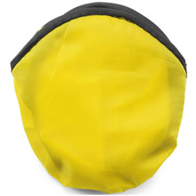 promotional Foldable frisbee, supplied in a pouch,W4V6370,colour: Yellow,Games & Puzzles,Water4Fish,promotional products