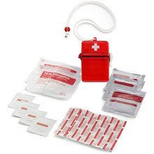 promotional Waterproof first aid kit,W4V6475,colour: Red,Medical & Personal Care Items,Water4Fish,promotional products