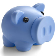 promotional Piggy bank,W4V6478,colour: Blue,Pink,Piggy Banks and Money,Water4Fish,promotional products