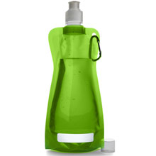 Foldable water bottle,W4V6503,colour: Light Green,Sport Items,Water4Fish