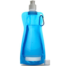 Foldable water bottle,W4V6503,colour: Blue,Sport Items,Water4Fish