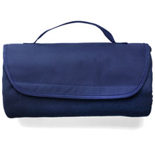 promotional Fleece travel blanket,W4V6565,colour: Navy Blue,Red,Light Blue,Beach & Outdoor Items,Water4Fish,promotional products