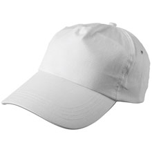 promotional Cap, 5 panels,W4V7005,colour: White,Caps & Hats,Water4Fish,promotional products
