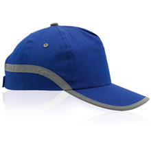 promotional Cap with reflective stripe,W4V7050,colour: Navy Blue,Caps & Hats,Water4Fish,promotional products